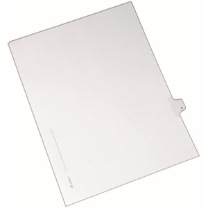 Avery Side-Tab Legal Index Divider AVE82206