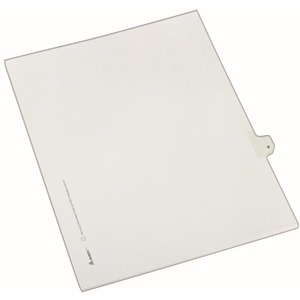 Avery Side-Tab Legal Index Divider AVE82207