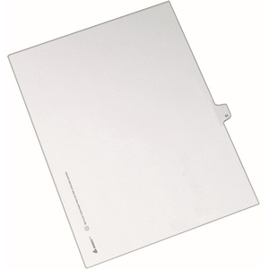 Avery Side-Tab Legal Index Divider AVE82209