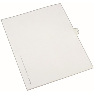 Avery Side-Tab Legal Index Divider AVE82212
