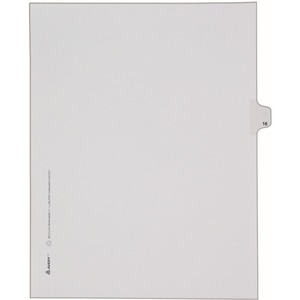 Avery Side-Tab Legal Index Divider AVE82214