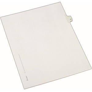 Avery Side-Tab Legal Index Divider AVE82217