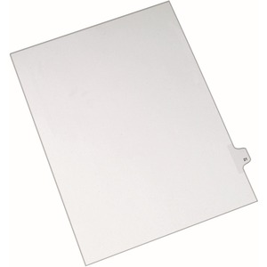 Avery Side-Tab Legal Index Divider AVE82219