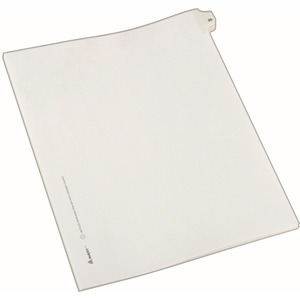 Avery Side-Tab Legal Index Divider AVE82223