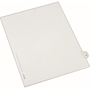 Avery Side-Tab Legal Index Divider AVE82227