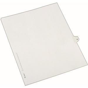Avery Side-Tab Legal Index Divider AVE82233