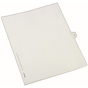 Avery Side-Tab Legal Index Divider AVE82235