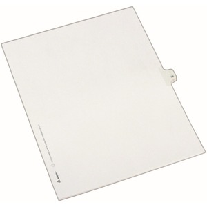 Avery Side-Tab Legal Index Divider AVE82236