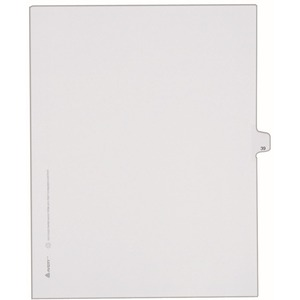 Avery Side-Tab Legal Index Divider AVE82237