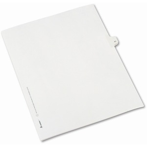 Avery Side-Tab Legal Index Divider AVE82239