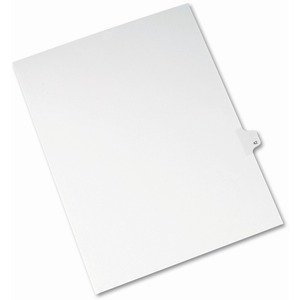 Avery Side-Tab Legal Index Divider AVE82240