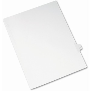 Avery Side-Tab Legal Index Divider AVE82242