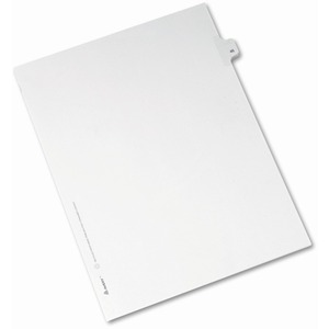 Avery Side-Tab Legal Index Divider AVE82244
