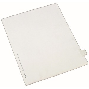 Avery Side-Tab Legal Index Divider AVE82252