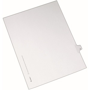 Avery Side-Tab Legal Index Divider AVE82255