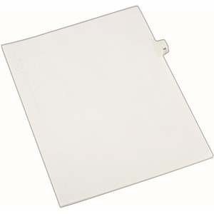 Avery Side-Tab Legal Index Divider AVE82256