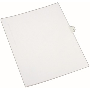 Avery Side-Tab Legal Index Divider AVE82260