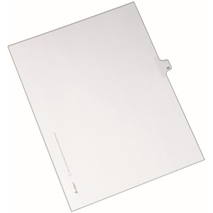 Avery Side-Tab Legal Index Divider AVE82263