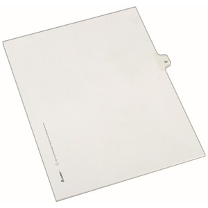 Avery Side-Tab Legal Index Divider AVE82264