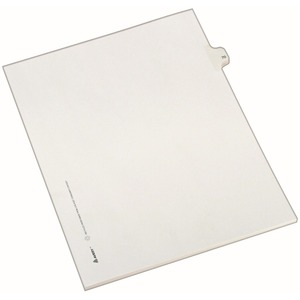 Avery Side-Tab Legal Index Divider AVE82268