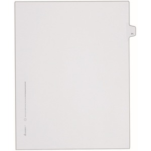 Avery Side-Tab Legal Index Divider AVE82269