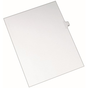 Avery Side-Tab Legal Index Divider AVE82283