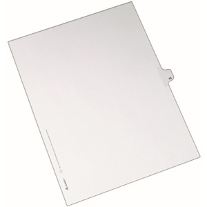 Avery Side-Tab Legal Index Divider AVE82286