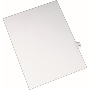 Avery Side-Tab Legal Index Divider AVE82291