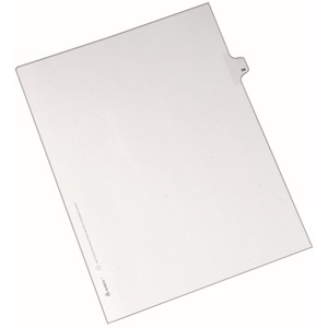 Avery Side-Tab Legal Index Divider AVE82292