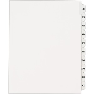 Avery Side Tab Index Divider AVE82320