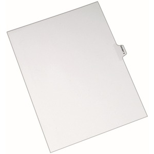 Avery Individual Side Tab Legal Exhibit Dividers AVE82325