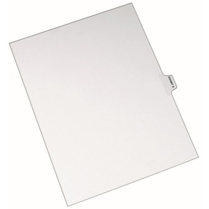 Avery Individual Side Tab Legal Exhibit Dividers AVE82326
