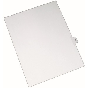Avery Individual Side Tab Legal Exhibit Dividers AVE82327