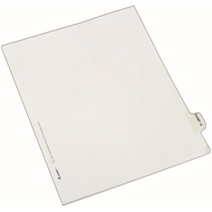 Avery Individual Side Tab Legal Exhibit Dividers AVE82332