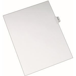 Avery Individual Side Tab Legal Exhibit Dividers AVE82334