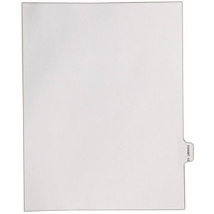Avery Individual Side Tab Legal Exhibit Dividers AVE82338