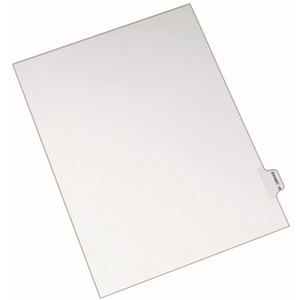 Avery Individual Side Tab Legal Exhibit Dividers AVE82339