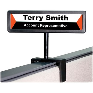 Advantus People Pointer Cubicle Sign AVT75334