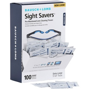 Bausch & Lomb Sight Savers Pre Moistened Lens Cleaning Tissue BAL8574GM