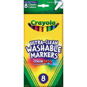 Crayola Washable Thinline Marker CYO587809