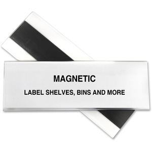 C-line HOL-DEX Magnetic Shelf/Bin Label Holders CLI87247