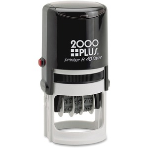 COSCO 2000 Plus Self-Inking Date and Time Stamp COS011041