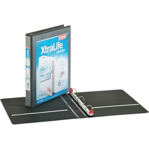 Cardinal XtraLife ClearVue Non-Stick Locking Slant-D Ring Binder CRD26301