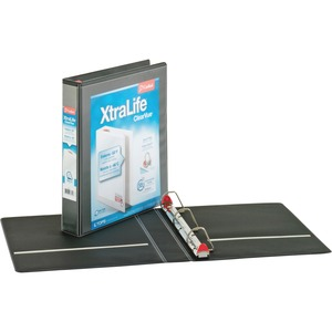 Cardinal XtraLife ClearVue Non-Stick Locking Slant-D Ring Binder CRD26311