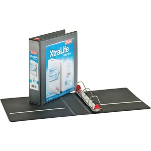 Cardinal XtraLife ClearVue Non-Stick Locking Slant-D Ring Binder CRD26321