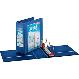 Cardinal XtraLife ClearVue Non-Stick Locking Slant-D Ring Binder CRD26342