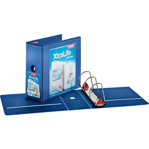 Cardinal XtraLife ClearVue Non-Stick Locking Slant-D Ring Binder CRD26352