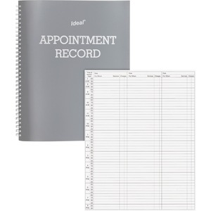 Dome Undated Spiral Appointment Book DOM40977