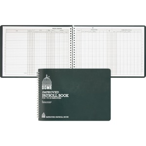 Dome Publishing Payroll Book DOM625