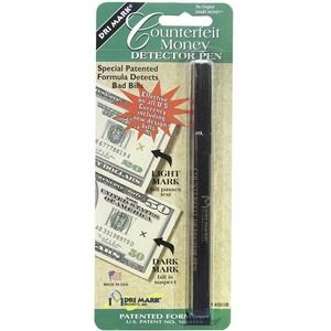 Dri Mark U.S Counterfeit Money Detector Pen DRI351B1